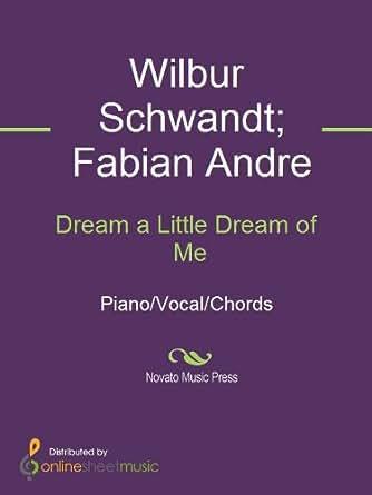 Dream A Little Dream Of Me Kindle Edition By Cass Elliott Fabian