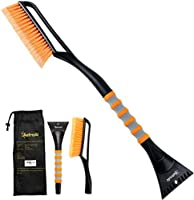 "AstroAI 27"" Snow Brush and Detachable Deluxe Ice Scraper, Balais à Neige with Ergonomic Foam Grip for Cars (Heavy Duty..."