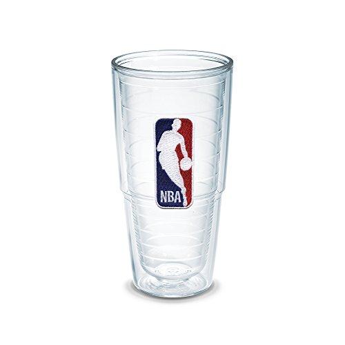 Tervis 1051538 ''NBA Logo'' Tumbler, Emblem, 24 oz, Clear by Tervis