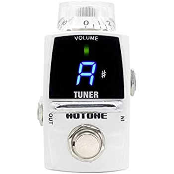 hotone smart tiny tuner led guitar pedal tuner hotone musical instruments. Black Bedroom Furniture Sets. Home Design Ideas
