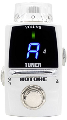 (Hotone Smart Tiny Tuner LED Guitar Pedal Tuner)