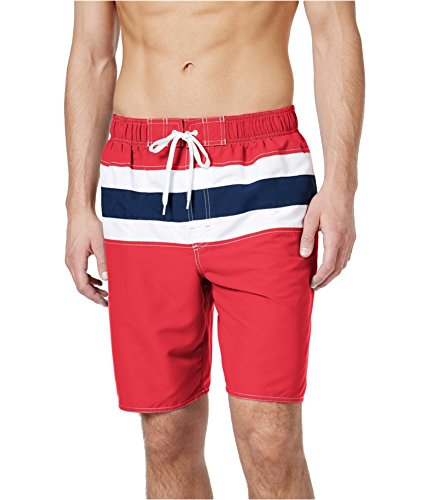 Newport Blue Men's Bandera Swim Bottom Board Shorts, Melon/Navy, 3X Big (Newport Bandera)