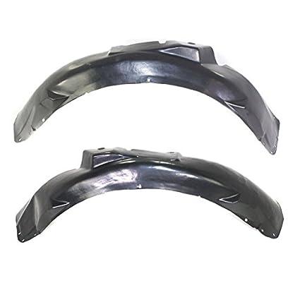 98-05 A6 Front Splash Shield Inner Fender Liner Panel Left /& Right Side SET PAIR