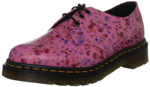 Dr 1461 Flowers Martens Little para con mujer Little Zapatos Acid cordones Flowers Core rPrxw5dq