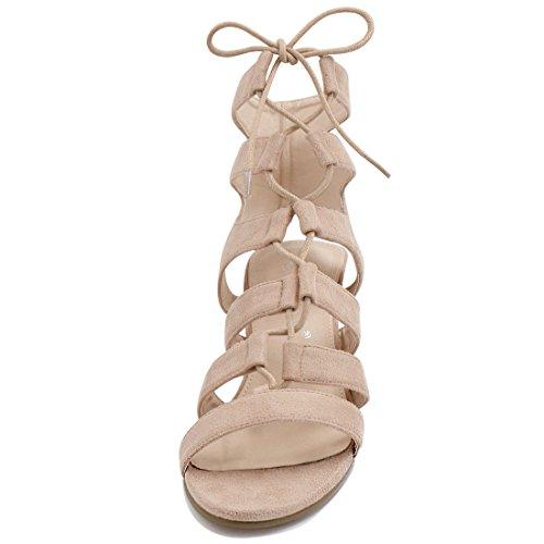 In 5 Alte Sandalo Allegra Usa Con Aperto Stinghe K Donna Punta 9 Marroni Rosa AI7441Fxqw