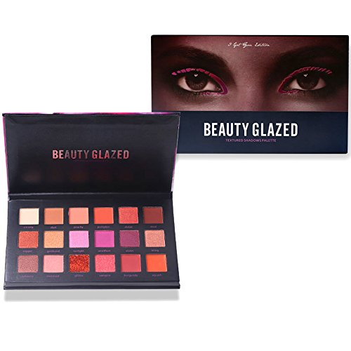 Beauty Glazed Eyeshadow Palettes 18 Colors Make Up Palettes