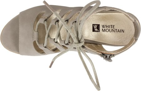 Taupe White Lt Gladiator Women's Mountain Smooth Sandal Taupe Light Fanfare g18grxvq