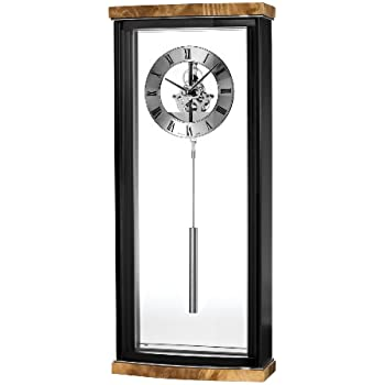 Amazon Com Bulova C3388 Landon High Gloss Clock Piano