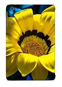 Crooningrose High Quality Shock Absorbing Case For Ipad Mini/mini 2-Yellow Gazania wangjiang maoyi