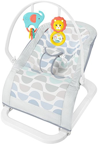 Fisher-Price Fun 'n Fold Bouncer, Blue/Grey/White by Fisher-Price