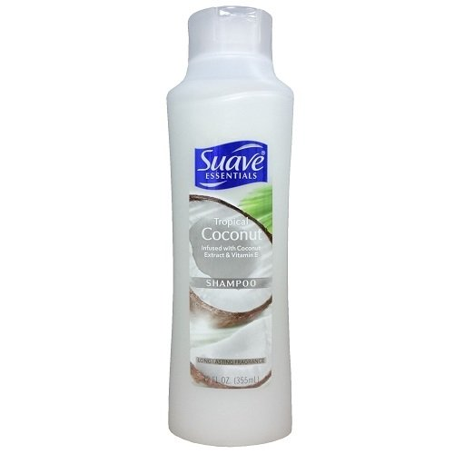 Shampoo Suave Coconut (Wholesale Suave Shampoo 12oz Tropical Coconut)