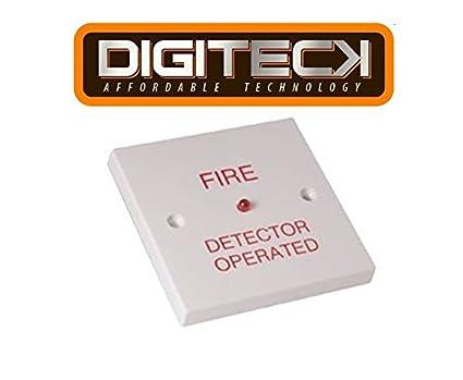 fa21 a – Riu unidad de indicación remoto detector de incendio funciona