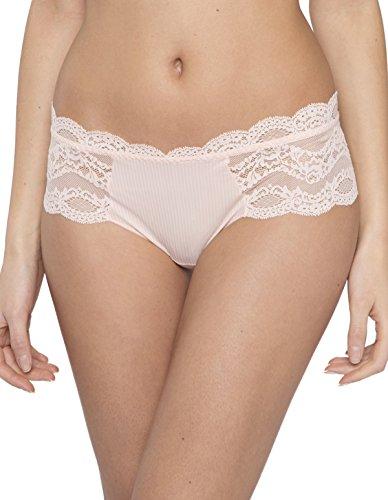 Maison Lejaby 17269-321 Women's Insaisissable Peach Pink Knicker Shorties Med