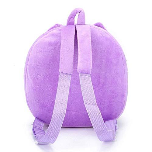 a Hot regalo Colore rosso Toddler ragazze Bambini Dimensione Bambino borsa Baby Cute Pink Pink Cartoon Hot zaino zaino tracolla Moontang Zxw4RAqv4