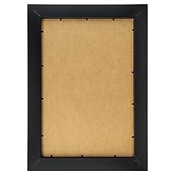 Craig Frames 1WB3BK 16 by 20-Inch Wall Decor Frame, Smooth Finish, 1-Inch Wide, Matte Black