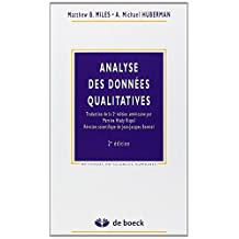Analyse donnees qualitatives 2/e