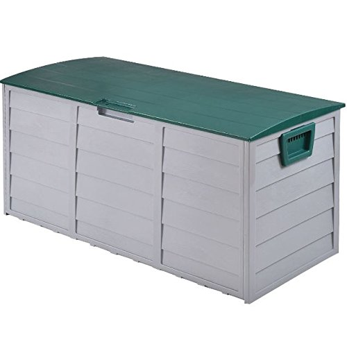 eXXtra Store 70 Gallon Outdoor Deck Storage Box 44'' Garage Patio Shed Tool Bench Container + eBook by eXXtra Store (Image #4)