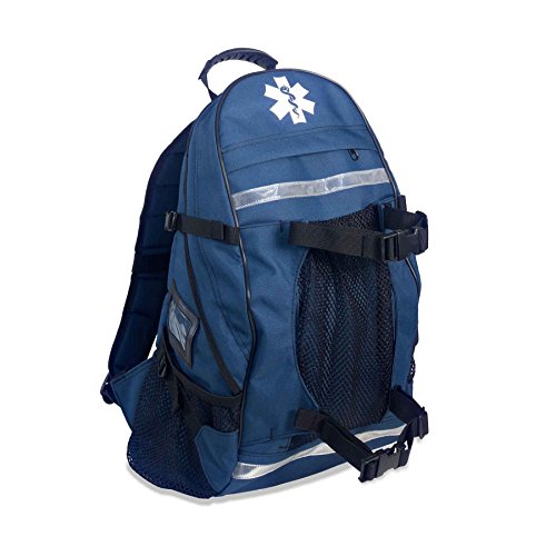 Ergodyne Arsenal 5243 Medic First Responder Trauma Backpack Jump Bag, Blue