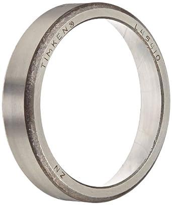 "Timken L45410 Tapered Roller Bearing, Single Cup, Standard Tolerance, Straight Outside Diameter, Steel, Inch, 1.9800"" Outside Diameter, 0.4200"" Width"