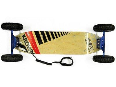 Krown DSK Blue Mountainboard 9x35.5' - ATB Board - Mountain Board
