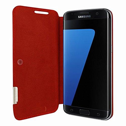 Piel Frama Wallet Case for Samsung Galaxy S7 Edge - Red by Piel Frama (Image #2)