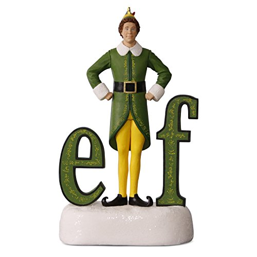 Hallmark Keepsake 2017 Buddy the Elf Sound Christmas Ornament ...