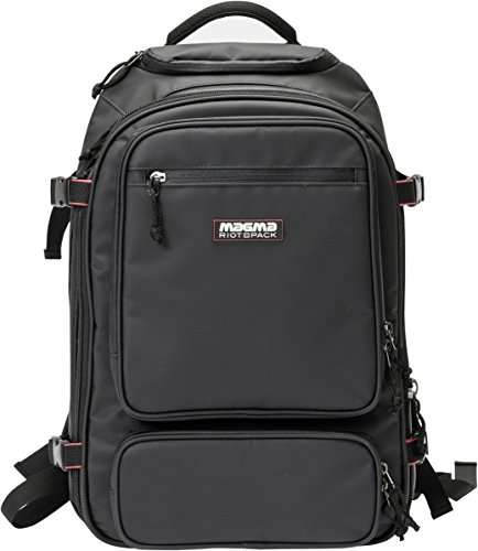 Magma Bags - Magma Riot DJ Backpack for Small Controllers or DVS Systems