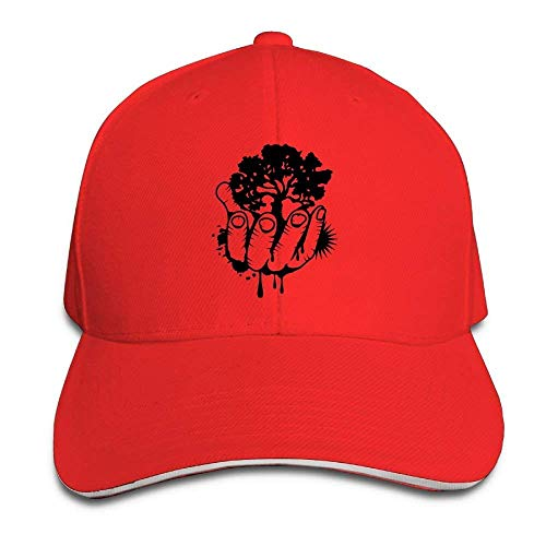 Unisex Hats Sandwich by Tree NDJHEH Cap béisbol Gorras Adjustable Baseball Hand Held A6AqX7Fw