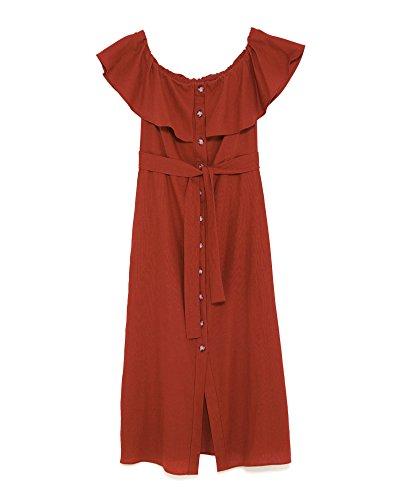 Zara rot weiss gestreiftes kleid