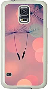 Dandelion Seeds Parachutists Galaxy S5 Case, Galaxy S5 Cases - Compatible With Samsung Galaxy S5 SV i9600 - Samsung Galaxy S5 Case Durable Protective Case