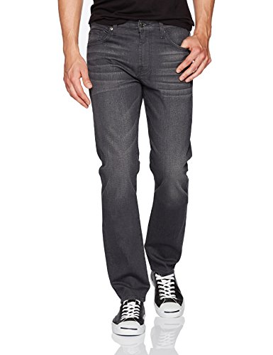 7 For All Mankind Men's Slimmy Slim Straight Leg Jean in, Portland Grey, 31