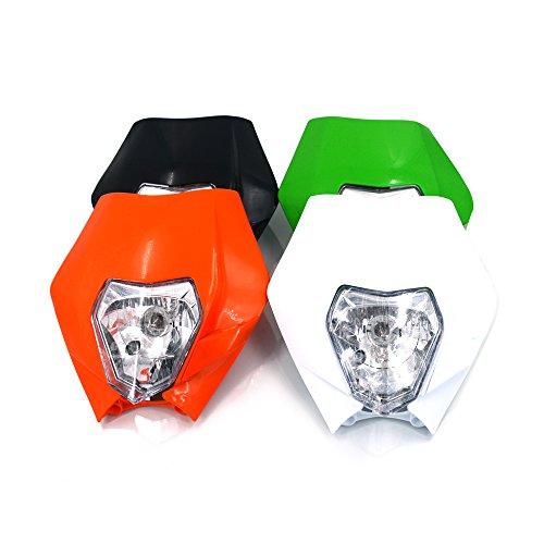 Motorcycle Headlights Head Lamp Light Street Fighter Enduro Supermoto Racing