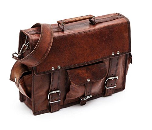 Porterbello - 'Kew' Medium Handcrafted Leather Satchel