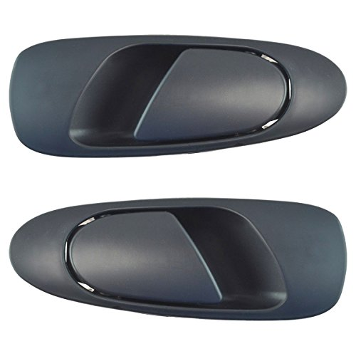 Door Handles Outside Exterior Rear LH & RH Pair Set for 92-95 Honda Civic Sedan