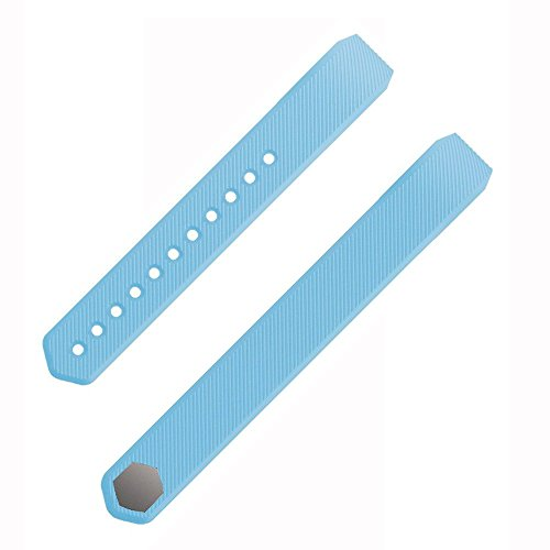Etoper Silicone Accessories Replacement WristbandBandsSize Small LightBlue