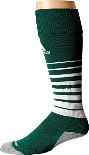 adidas Team Speed Soccer Socks (1-Pack), Forest/White, ()