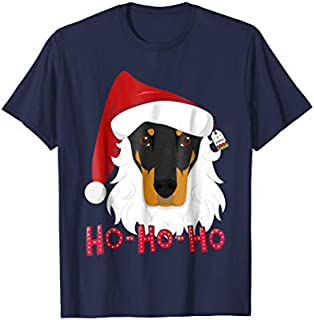 Great GiftMerry Christmas Doberman Dog Tshirt GiftLove Funny TShirt