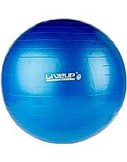 Bola Suiça Premium, 65Cm, Azul, Liveup Sports