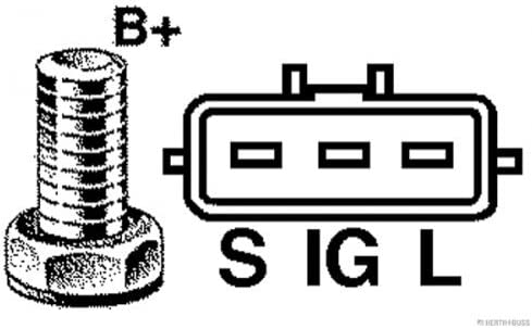 HERTH+BUSS JAKOPARTS J5112134 Generator