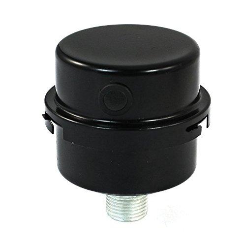 Cikuso Compressore aria 1//2PT Silenziatore filtro silenziatore connettore thread