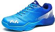Anwant Men's Badminton Shoes Deluxe Indoor Court Shoes Resistant Non-Slip Racquetball Squash Badminton Vol