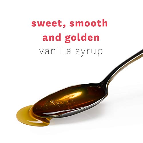Premium Gourmet Vanilla Bean Syrup - Perfect in Coffee, Cocktails, Soda, Baking, Over Breakfast, Pancakes, Waffles, Ice Cream, Desserts - Made With Pure Natural Heilala Vanilla Extract by Heilala Vanilla (Image #1)