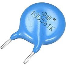 uxcell Voltage Dependent Resistors AC 350V 10D561K L6 Radial Lead Disc Varistors
