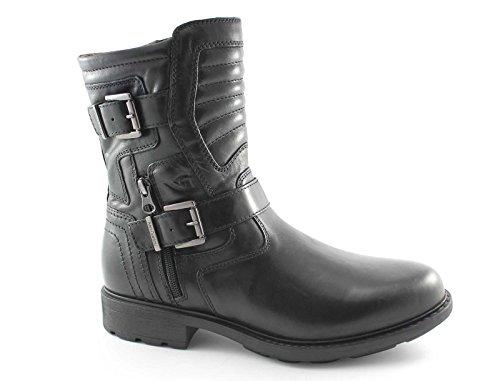 BLACK 3802 Mannes Schuhe Nero Boot schwarze GARDENS Amphibien rBxq5r