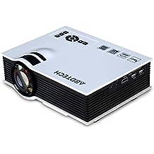 "Abdtech 130"" Mini LED Projector 800 Lumens Multimedia Beamer Portable Home Theatre Projectors"