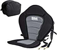 BEYOND MARINA Kayak Seats with Back Support for Sit On Top, Cushioned Seat Pad with Back Storage Bag, Comforta