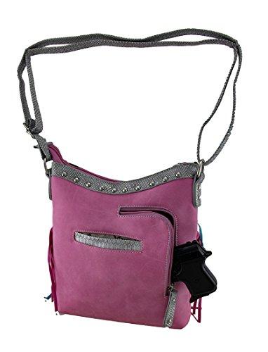 Zeckos - Bolso cruzados para mujer Talla Unica rosa