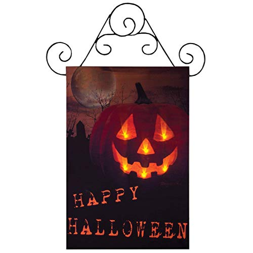 Ohio Wholesale Halloween Door Canvas Radiance Lighted Wall
