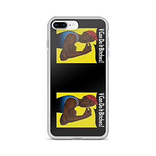 iPhone 7 Plus/iPhone 8 Plus Case Clear Anti-Scratch V Can Do It!, Lafayette Cover Phone Cases for iPhone 7 Plus iPhone 8 Plus]()