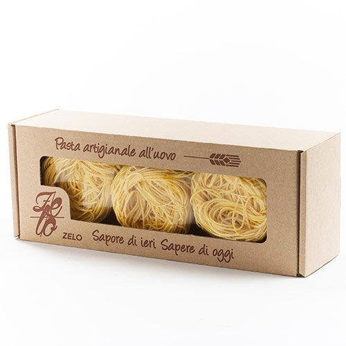 Egg Pasta Nests - Capelli d'Angelo by Pasta Zelo (250 gram)